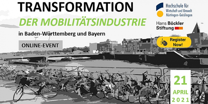 Regional perspectives in Sustainable Mobility. Transformations in Baden-Württemberg and Bavaria (Online Workshop in German)